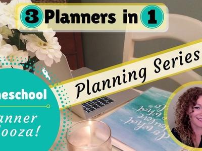 3 in 1 PLANNER || HOMESCHOOL, PERSONAL & HOME || HOMESCHOOL PLANNER PALOOZA || PLANNER SERIES #2