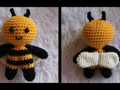 AMIGURUMI BEE CROCHET TUTORIAL