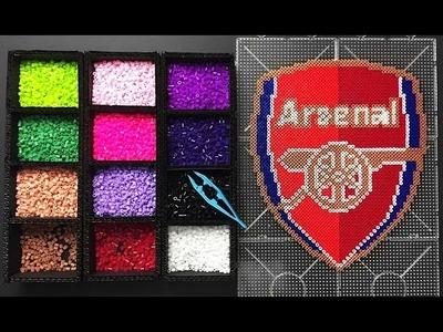 Arsenal FC Logo Pixel Art ( How to make )