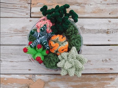 Crochet Succulent Garden Tutorial