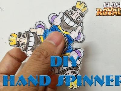 DIY Clash Royale Fidget Spinner   Clash Royale Toys