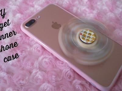 DIY fidget spinner pop socket phone case.satisfying Squishy