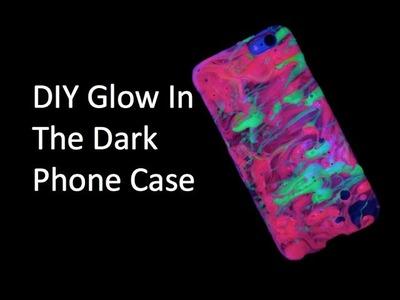 DIY Glow In The Dark Phone Case