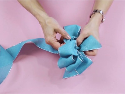 DIY How to Tie a Loopy Bow