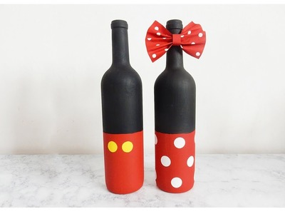 DIY Mickey and Minnie Mouse Home Décor