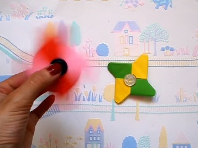 DIY Origami fidget spinner without a bearing | Paper fidget spinner | Hand spinner | Maison Zizou