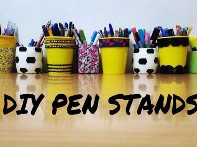 DIY Pen Stand from Cup Noodles Fun, easy best out of waste   Dyuti Agrawal
