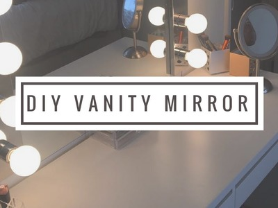 DIY: Remote Controlled Vanity Mirror w. Lights UNDER $100!!!
