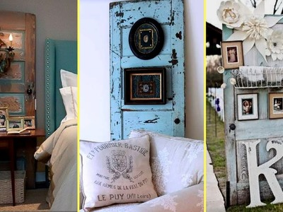 ????DIY Repurposed Furniture Ideas – Old Door Recycling.Home decor ideas 2017????