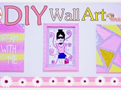 "DIY ROOM DECOR #2 ""WALL ART"" (INDONESIA)"