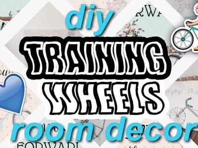 DIY Training Wheels Room Decor! Melanie Martinez Inspired Decor!