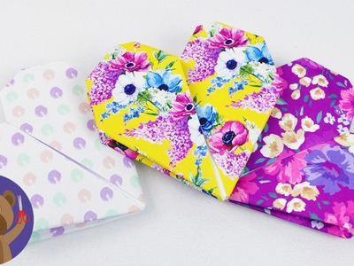 Doubled Heart Gift Wrap | Valentine´s Day Surprise | Origami Idea