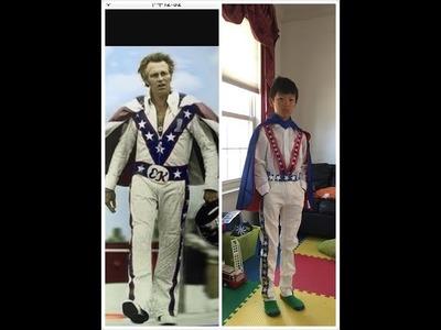 Evel Knievel Costume DIY