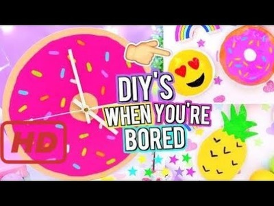 FUN DIY ROOM DECOR To Do When You're BORED! Easy DIY Room Decor Ideas!  - How to make Slime