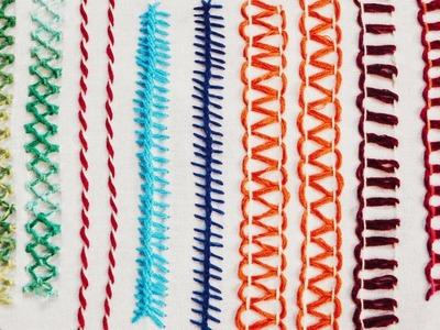 Hand Embroidery Patterns Backstitch Cherry Blossom