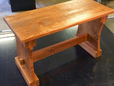 How To Build A Trestle Bench