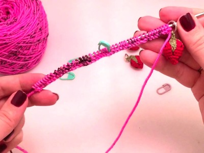 How to count stitches for a long cast on