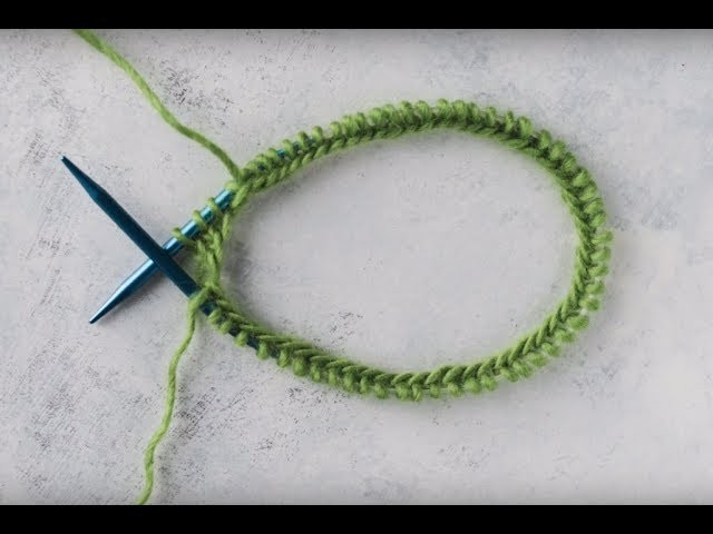 How to Knit in the Round Fixed Circular Needles | AllFreeKnitting