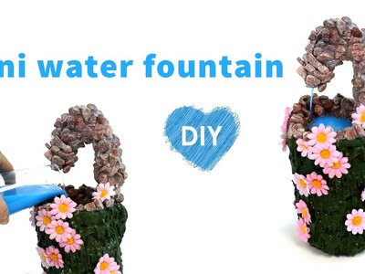 How to make a mini water fountain DIY