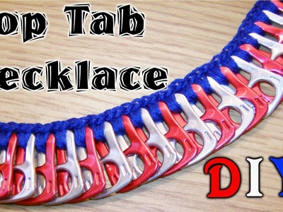 How To Make A Pop Tab Necklace