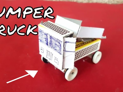 How to make a Self energy Dumper Truck with Match box | Truck without battery power | DIY Truck