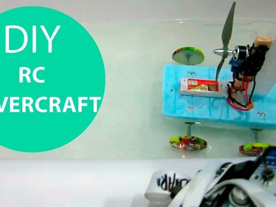 How to Make an RC Air Boat. Propeller Driven Car. HomeCraft