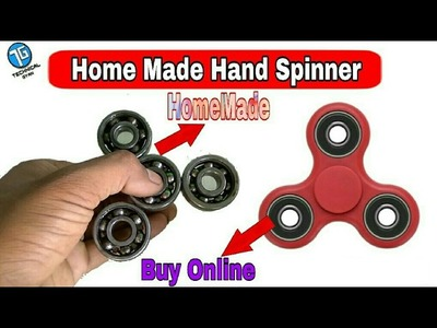 How To Make Fidget Hand Spinner At Home HomeMade DIY Fidget Spinner Toy