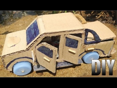 How To Make Toyota Hilux Vigo DIY - Powered Car Very Easy