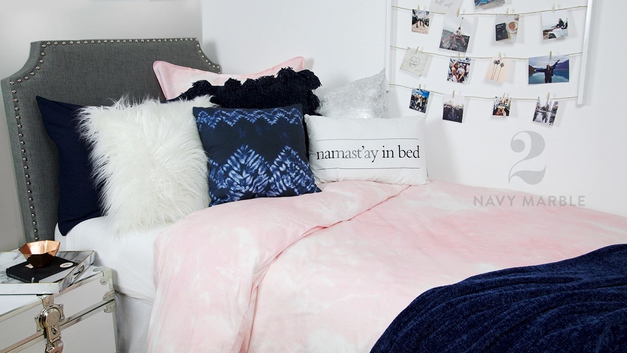 How To Style The Pink Marble Duvet 4 Ways
