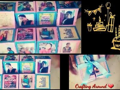 Magic Cube Box.Magic Cuboid.DIY Crafts.Handmade Cube Box.Birthday Gift Ideas.