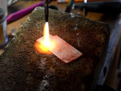 Making A Fused Texture For Silver Jewelry