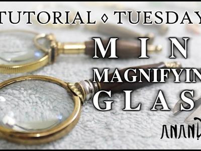 Mini Magnifying Glass   Tutorial Tuesday #1   DIY Doll & BJD props