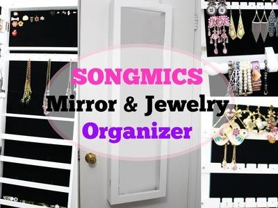 My Jewelry Storage Collection SONGMICS Mirror + Organizer