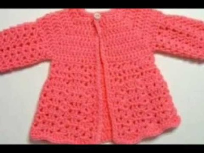 One colour baby girl sweater designs | beautiful Design for Kids or baby in hindi