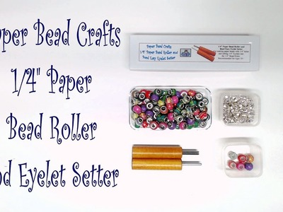 "Paper Bead Crafts 1.4"" Paper Bead Roller and Eyelet Setter"