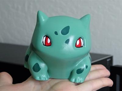 Pokémon: 3D printing the Bulbasaur statue (ENGLISH)