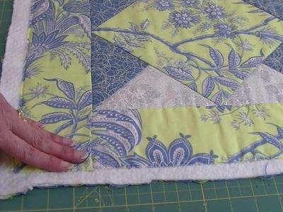 Preparing Quilt for Binding (#3)