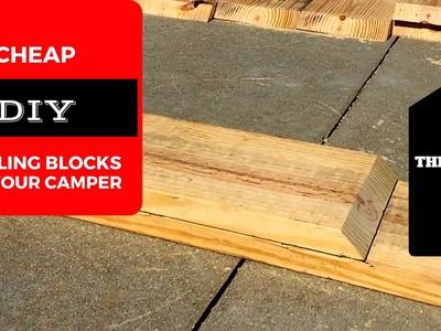 THDL- DIY LEVELING BLOCKS FOR CAMPER