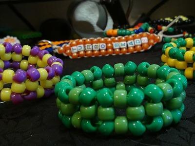 Turbobeads: ParaSquare Bead Bracelet Tutorial