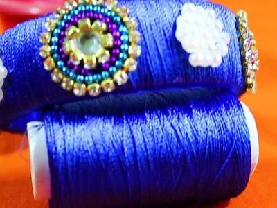 Beads Bangles Design | Silk Thread with Beads bangle Fashion Designs || FB Designs