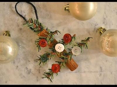 Cinnamon Christmas Tree Ornament Tutorial