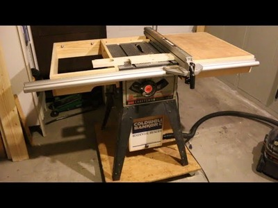 DIY Dust Collector for older Craftsman Tablesaw Project