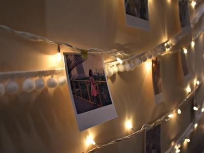DIY Polaroid Wall Display
