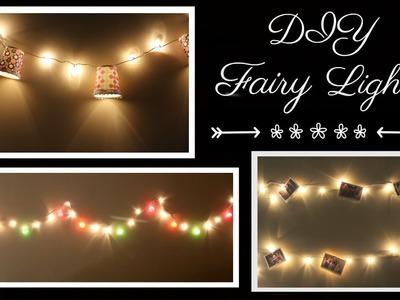 DIY Room Decor with Fairy Lights
