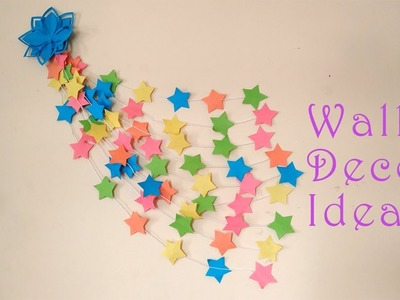 DIY Wall Hanging Craft Ideas Using Colorful Paper   Wall Hangers for Room Decoration
