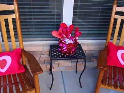 Dollar Tree DIY Valentine's Day   Outdoor Home Decor