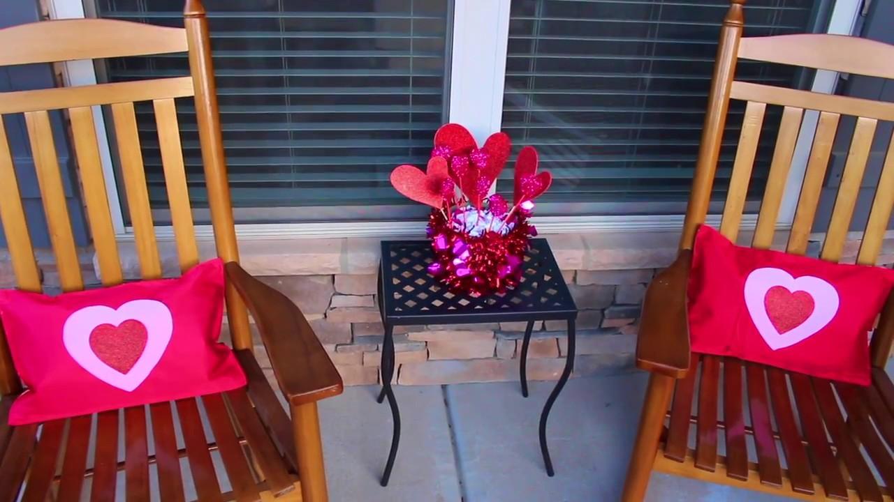 Dollar Tree DIY Valentine's Day | Outdoor Home Decor