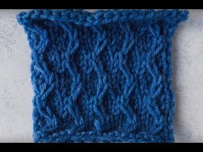 Easy Slip Stitch Pattern