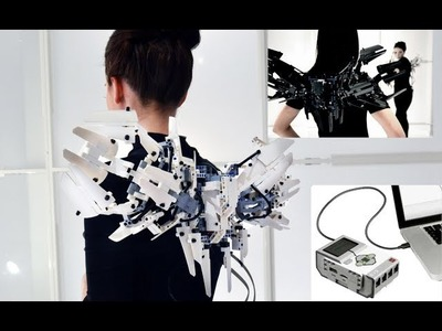 EV3 Mechatronic LEGO MindStorms Wings + DIY on how to make them yourself