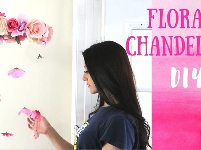 Flower Chandelier or Mobile DIY